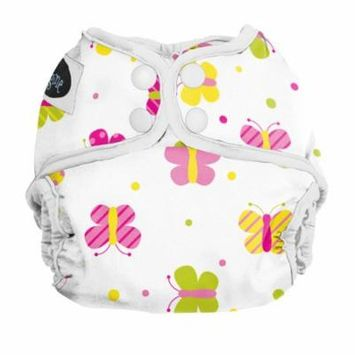Imagine Baby Products Newborn Diaper Cover, Snap, Flutter