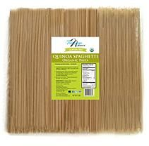 Mountain High Tresomega Nutrition Organic Quinoa Pasta, Spaghetti (5 lb. Bag)