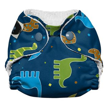 Imagine Baby Products Newborn All in One Stay Dry Diaper, Snap, Rawr