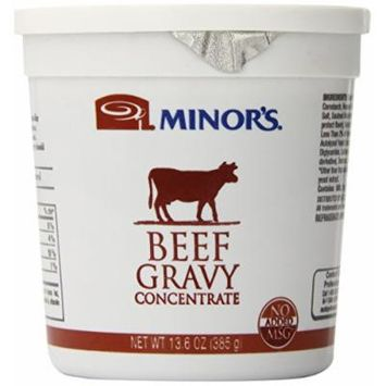 Minor's Gravy Concentrate, Beef, 13.6 Ounce