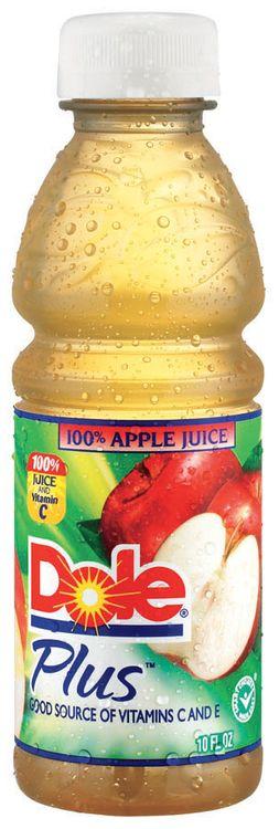Dole Plus 100% Apple Juice