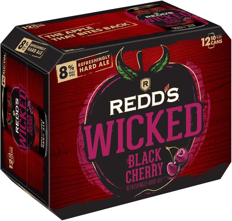 redd's wicked® black cherry refreshingly hard ale 1