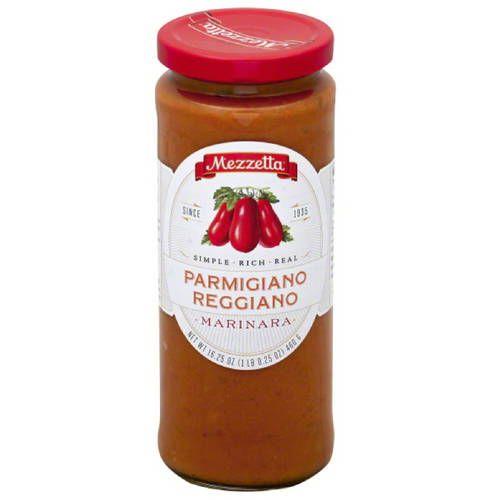 Mezzetta Parmigiano Reggiano Marinara Sauce, 16.25 oz, (Pack of 6)