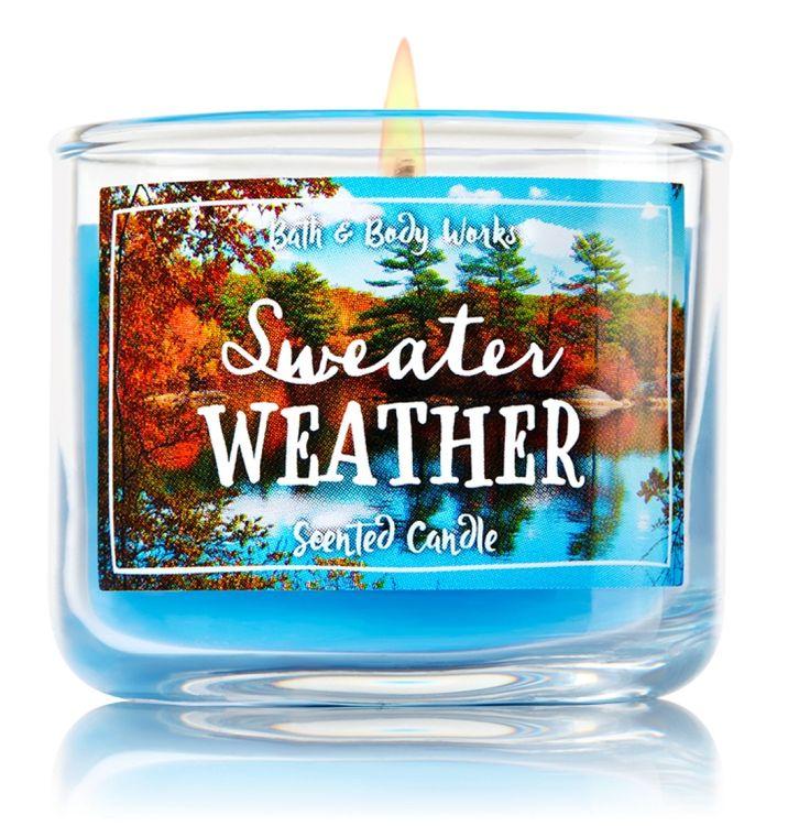 Bath & Body Works® Sweater Weather 1-Wick Mini Candle