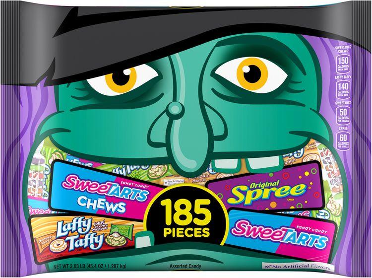 nestlé assorted halloween candy 185 pieces,