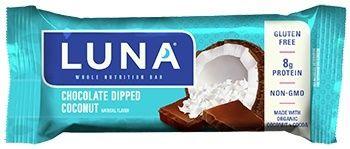 Luna Chocolate Dipped Coconut