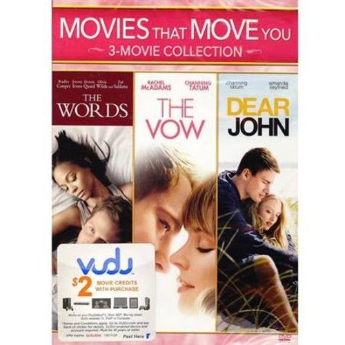 Movies That Move You: 3-Movie Collection - The Words / The Vow / Dear John (Widescreen)