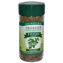 Frontier Natural Products Co-Op Thyme Leaf Flakes