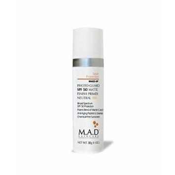 M.A.D Skincare Solor Protection Photo Guard SPF 50 Matte Finish Primer - Anti-Aging (Neutral)