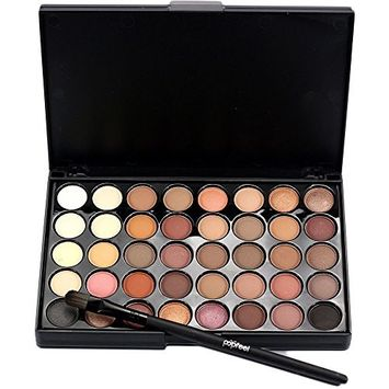 Fdrirect Eye Shadow Long Lasting Universal 40 Color Makeup Lady