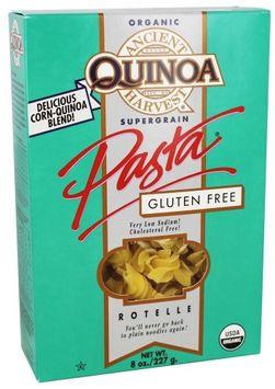 Ancient Harvest Quinoa - Organic Gluten Free Supergrain Quinoa Pasta Rotelle - 8 oz(pack of 4)