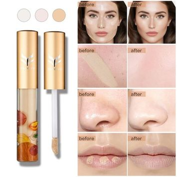 Make-Up Cover Waterproof Natural Primer Faced Concealer Base Professional Beauty to Cover Up Dark Circles and Skin Imperfections by SMYTShop (ZXY001-1)