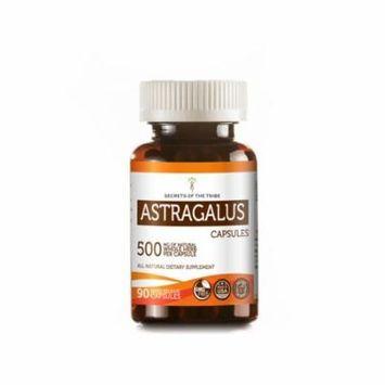 Astragalus 90 Capsules, 500 mg, Organic Astragalus (Astragalus Membranaceus) Dried Root