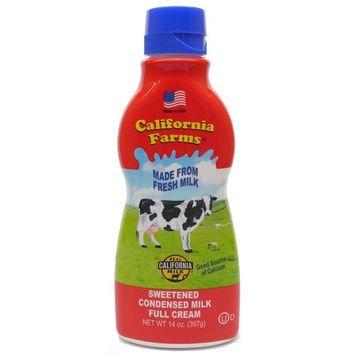 California Farms Sweetened Condensed Milk Full Cream, 14 Oz, Pack of 2