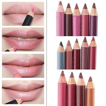 12 Colors Per Set NEW Women's Lipliner Waterproof Lip Liner Pencil