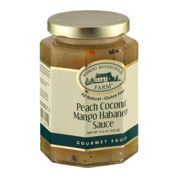 Robert Rothschild Farm Peach Coconut Mango Habanero Sauce