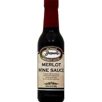 Braswell's Merlot Wine Sauce 8.5fl.oz (Pack of 6)