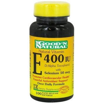 Good'n Natural Good 'N Natural - Vitamin E With Selenium 400 IU - 100 Softgels