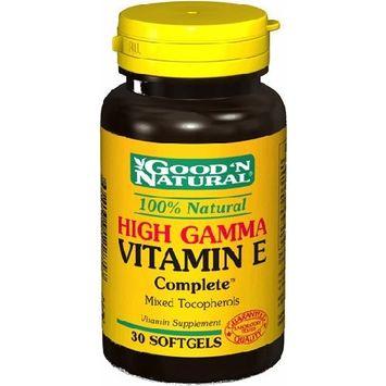 Good'N Natural - High Gamma Vitamin E complete, 30 Softgels
