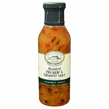 Robert Rothschild Farm Roasted Pineapple & Habanero Sauce - 14.8 Oz. Net Wt.