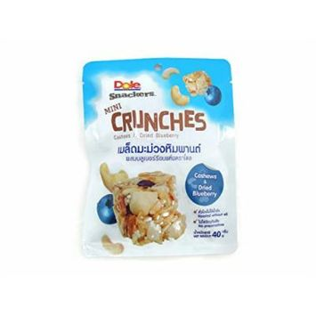 Dole Mini Crunches Cashew and Dried Blueberry