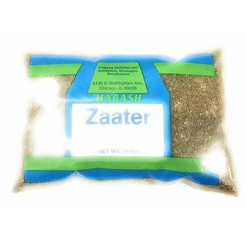 Habash Za'atar Middle Eastern Seasoning Mix Spice Green Blend ( Zaatar Za atar Zahtar) Mix of Thyme, Sumack, and Sesame Seeds Triple Traders Exclusive