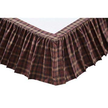 Abilene Star Bed Skirt by VHC Brands