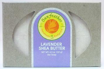 Sunfeather - Bar Soap Lavender Shea Butter - 4.3 oz.
