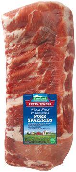 Farmland® Extra Tender® St. Louis Style Fresh Pork Spareribs Pack