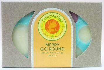 Sunfeather - Bar Soap Merry Go Round - 4.3 oz.