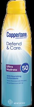 Coppertone Defend & Care Ultra Hydrate Spray