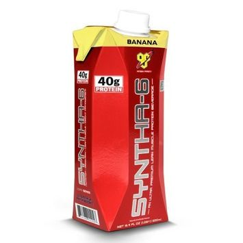 BSN Syntha-6 RTD, Banana, 16.9fl-oz Cartons