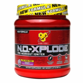 Bsn BSN - N.O-Xplode Pre-Workout Igniter Bonus Size Grape 36 Servings - 1.47 lbs.