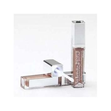 The Lano Company Lip Gloss Light Up Push Button, Raging Red, 0.3 Fluid Ounce