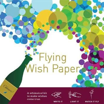 Flying Wish Paper Champagne Dreams, Large