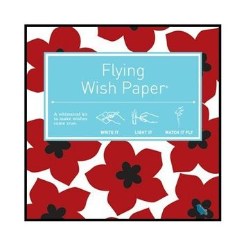Flying Wish Paper Ruby Reds, Small