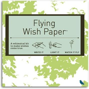 Flying Wish Paper Birthday Birdy