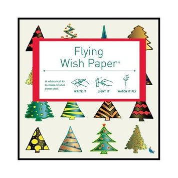 Flying Wish Paper Holiday Tree, Small