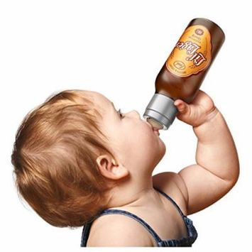 Fred and Friends CHILL, BABY li'l lager baby bottle