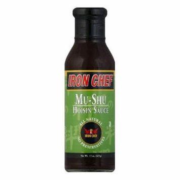 Iron Chef Mushroom Hoisin Sauce, 15 OZ (Pack of 6)