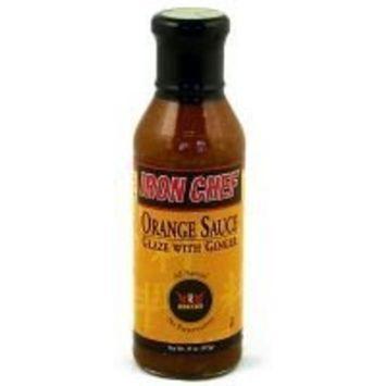 IRON CHEF Orange Ginger Sauce 15.0 OZ(Pack of 12)