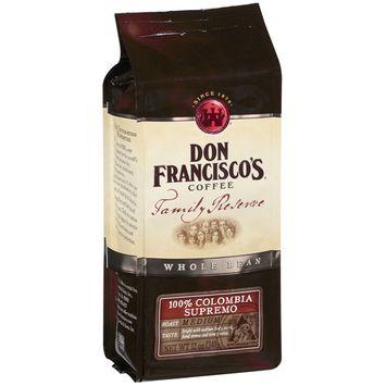 Don Francisco's Coffee Don Francisco's Family Reserve Supremo Whole Bean Coffee, 12 oz