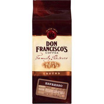 Don Francisco's Coffee Family Reserve Espresso Ground Coffee, 10 oz
