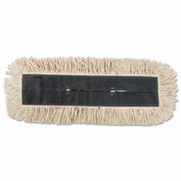 Dust Mop, Disposable, 5 x 36, White,Carton