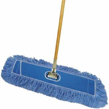 Boardwalk Natural Looped-End Dust Mop, Blue