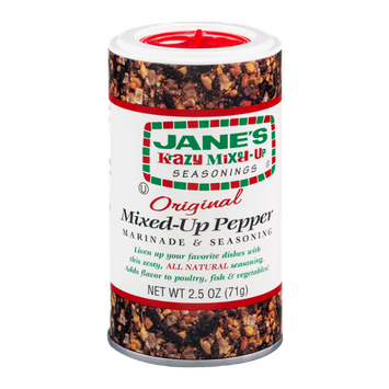 Jane's Krazy Mixed-Up Seasonings Mixed-Up Pepper