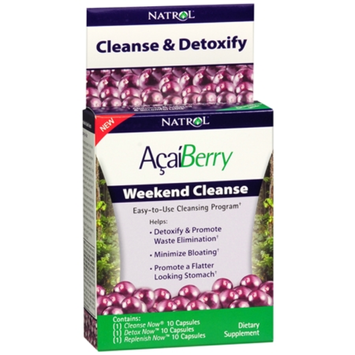 Natrol Acai Weekend Cleanse