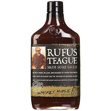 Rufus Teague whiskey maple sauce 16 oz