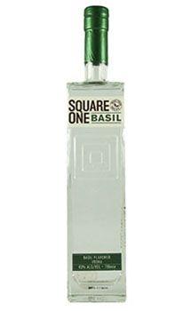Square One Basil Organic Vodka