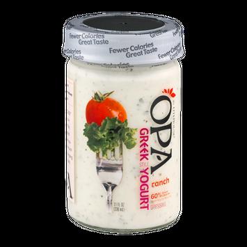 Litehouse OPA Greek Style Yogurt Dressing Ranch